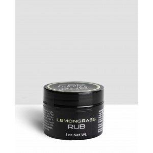 CBD for Life Lemongrass Rub