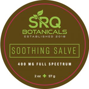 Image of label for SRQ Botanicals Soothing Salve